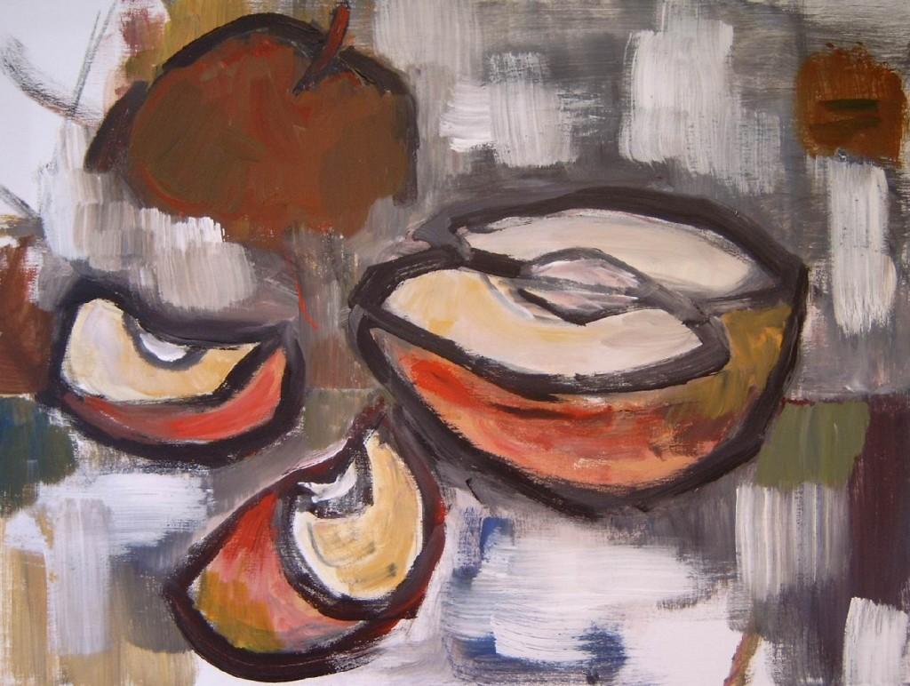 2009 appelstukken 60x80 cm