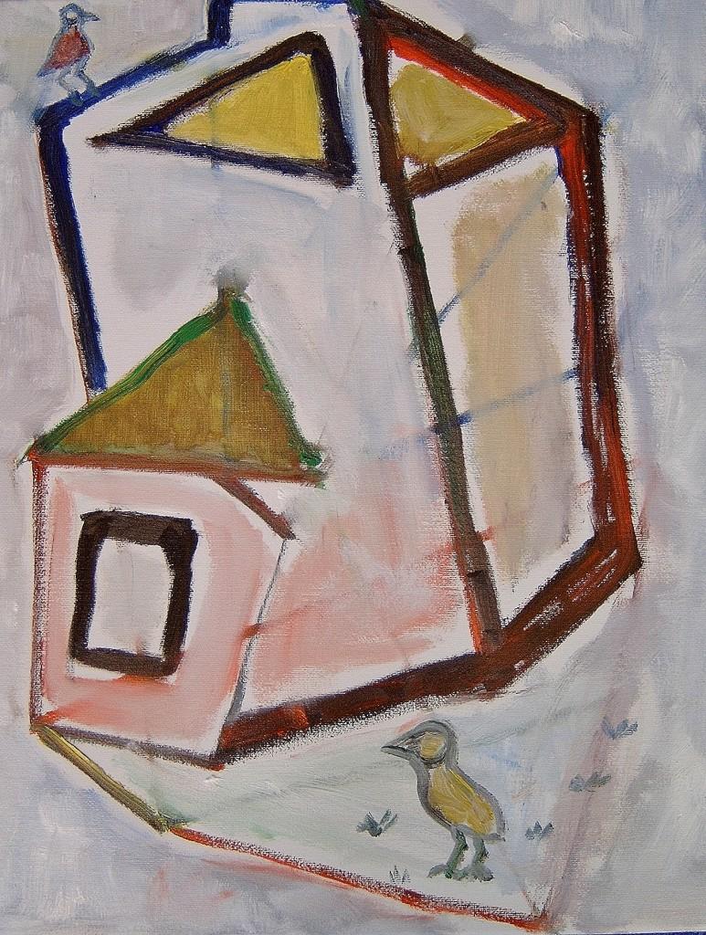 2009 vogels 6   40x50 cm