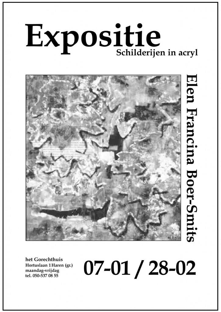 Affiche expositie Haren 2003b