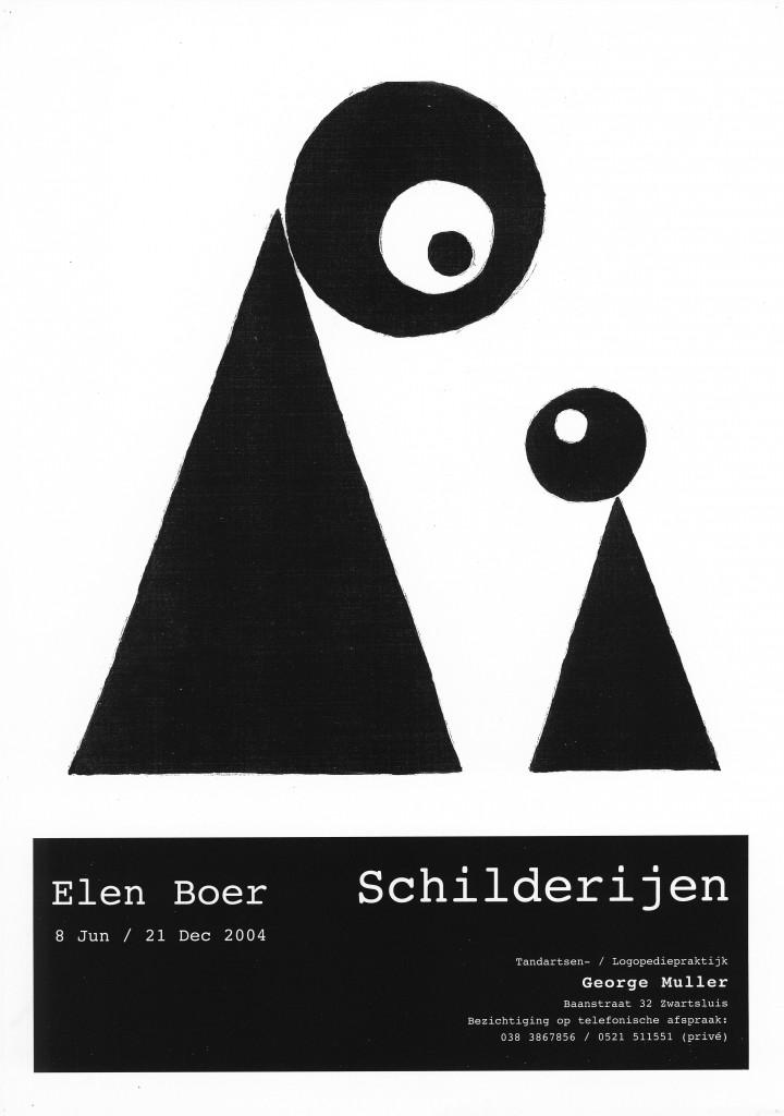 affiche  zwartsluis 2004